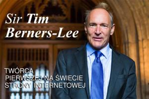 Tim Berners-Lee człowiek-historia strony internetowej