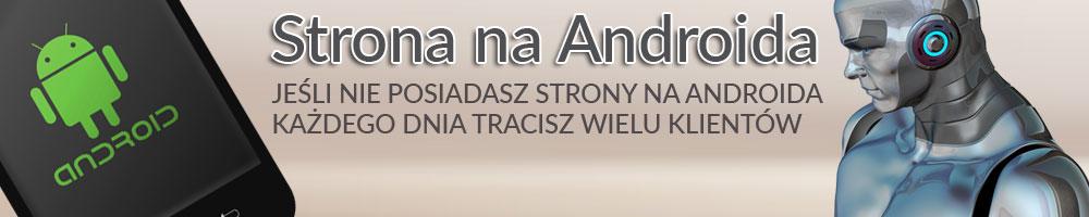 Strony naandroida