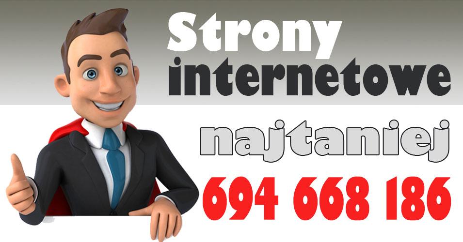 Reklama oferty tanie strony internetowe Olsztyn